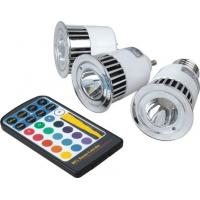 Quality Waterproof IP65 10W RGB Aluminum Round LED Flood Spotlight 85 - 265V 900LM for sale