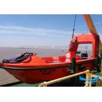 Quality Light Weight Solas Rescue Boat , Fire Protected Lifeboat 6-16 Person Capacity for sale