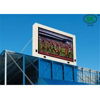 Quality Outdoor SMD and SMD P6  Commercial RGB Led display Led Video Screen water proof cabinet for sale