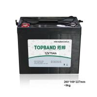 Quality 12v 75ah Battery Lithium Iron Phosphate Batteries CE Approved for sale