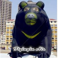 Quality Customized 10m Height inflatable Brown Bear for Square Decoration for sale