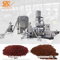 China Floating Fish Feed Production Line Turkey Projects Large Scale Animal Pet on sale