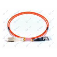 China Low Corrosion FC To LC Fiber Patch Cord ,  LSZH Multimode Duplex Fiber Optic Cable on sale