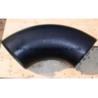 Quality Black Steel Butt Welding Pipe Fittings ANSI B16.9  High Pressure Resistant for sale