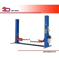 China Two Post Hydraulic Car Lift, Four Cylinder Structure Automotive Car Lifts with Bottom Bar on sale