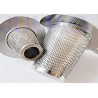 Quality Sintered Conical Filter Element , Temporary Filter Element Easy Processing for sale