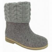 Quality Casual Flat Boots, Suitable for Women for sale