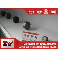 Quality Forged steel grinding media balls for power station , cement plant , mine for sale