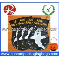 Quality Custom Made HDEP Plastic Treat Bags Colored For Halloween Candy Treat for sale