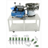 Quality Radial Capacitor Lead Cutting Machine AC 220V/110V With Automatic Feeding Drum for sale