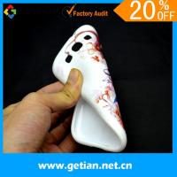 China Soft Cute Case For Samsung Galaxy s3 White Color Shockproof on sale