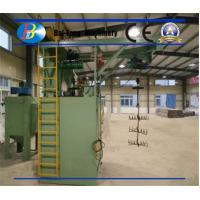 Quality Double Hanging Hooks Steel Shot Blasting Machine Large Effective Space For Thermal Slug for sale