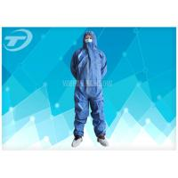 Quality Hospital Disposable Coverall Suit Medical Polypropylene Coveralls For Cleanroom for sale