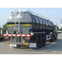 Quality 35000L-3 Axles-Aluminum Tanker Semi-Trailer for  Cyclohexylamine for sale