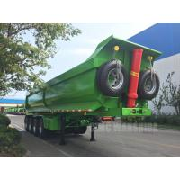Quality hydraulic tipping trailer 4 axles tipper trailer tipper semi trailer for sale for sale