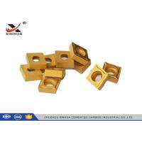 Buy CCMT120408 Hard Metal Cemented Carbide Cutting Inserts For Lathe Holder at wholesale prices