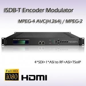 China REM7004 HD-SDI HD Encoder Modulator 4*SDI TO ISDB-T hd Vidoe Modulator on sale
