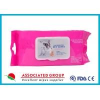 Quality Healthy Reusable Wet Wipes Tissues / Eco Friendly Organic Wet Wipes for sale