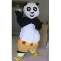 China Lovely Kung fu panda Mascot Cartoon Character Costumes for Adult on sale