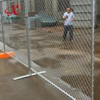 Quality Canada Convenient Installation Temporary Fence For Construction Site for sale