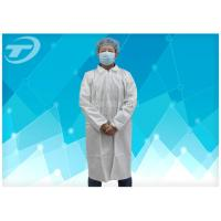 Quality Microporous Medical Lab Coats Soft , Waterproof And Breathable Surgical Scrub Suits for sale