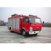 Quality ISUZU Chassis Light Fire Truck 4x2 Drive Type 6705×2200×3210mm Dimension for sale