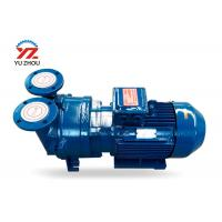 China Cast Iron Gear Oil Transfer Pump , Liquid Ring Vacuum Pump For Oil Purifier on sale
