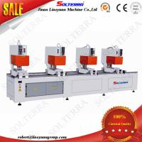 Quality UPVC Windows Four Head Seamless Welding Machines for colorful profiles SH4B-120x4500 for sale