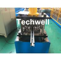 Quality 0-15m/min Cold Roll Forming Machine For Making Door Frame Guide, Shutter Door Slats Guide Rail for sale