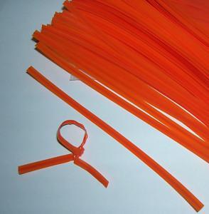 Quality HDPE/LDPE plastic bag closure/twist ties for sale