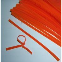 Buy cheap HDPE/LDPE plastic bag closure/twist ties from wholesalers