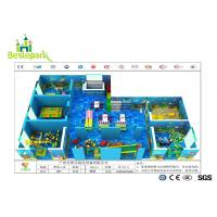 Colorful Theme Kids Indoor Play Centre , Toddler Play Zone For 3 - 15 Years Old for sale