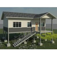 Quality Modern Structure Building Green 3 Bedroom Modular Homes Light Steel Villa for sale