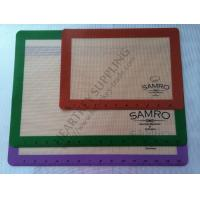 Quality Transparent Silicone Mat with Logo Custom Printing for Oven Cake Baking for sale