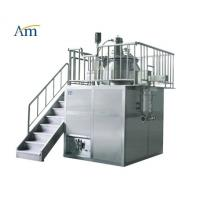 Quality High Shear Mixer with Mill Function 10-400 kg/batch Pharmaceutical Granulation Equipment Platform Type 25-1000L for sale
