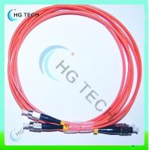 China Multimode Duplex FC/FC Fiber Patch Cord on sale