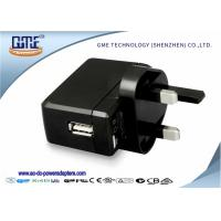 Quality One Port UK Plug universal travel adapter with usb port for MP3 MP4 Player for sale