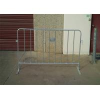 Quality Professional PVC Coated HDG Metal Crowd Control Barriers OD 25*2.0mm for sale