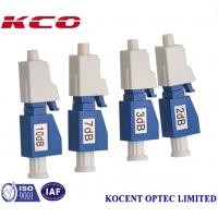 Quality 1000MW Fixed Type Lc Fiber Optic Attenuator Single Mode 3dB Telecom Standard for sale