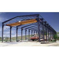 Quality Heavy Industrial Steel Structure Workshop With Crane Prefab Designed 50 Years Service Life for sale