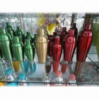 Quality Cocktail Shaker with Food-grade Stainless Steel Material and Painting for sale