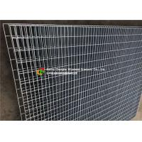 China Mild Steel Grating Wire Mesh Fence Large - Scale For Civil Engineering on sale