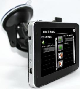 Quality 5 Inch Touchscreen GPS Car Navigation, Auto Car Navigation with GPS IGO8 Map free for sale