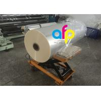 Quality One Side Corona Treatment Glossy Laminating Film / BOPP Cold Laminating Film for sale