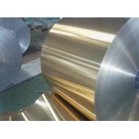 Quality Coloured Rolled Aluminium Sheet , Painted Aluminum Coil For Cooling Exchanger for sale