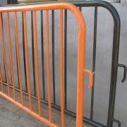 Quality Temporary Pedestrian Barricade with 1.1m and 1.2m Height for sale