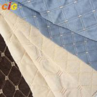 Buy cheap Auto Fabric with various Embroidery designs for Car Seat / Sofa / Furniture from wholesalers