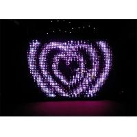 China Wedding/Party LED Vision Curtain,Video Curtain With LEDs on sale