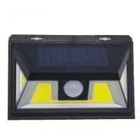 Quality COB Light Source LEDs IP65 Waterproof Solar Powered Motion Security Light for sale
