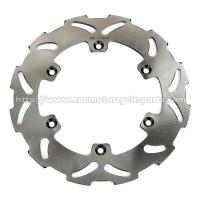 Quality SUZUKI CNC Motorcycle Parts OEM Rear Solid Wavy Brake Discs 4mm Thickness for sale